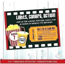 Ticket Invitation Maker Free Online Admit One Template Movie Theater