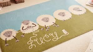 personalised childrens rugs