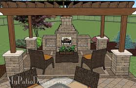 inspirations outdoor patio designs with fireplace