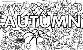 Small Picture Autumn Coloring Page 1 Coloring Page Crafting The Word Of God