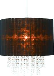 stirring chocolate brown chandelier shades image design