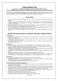 Thermal Power Plant Resume Sample Lovely Thermal Power Plant Operator Resume Pictures Inspiration 1