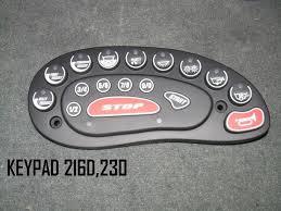 Timer 4 Min Nautique Boat Keypad With 4 Min Rear 9 Min Belly Timer Blue Led 100003