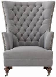 delia tufted wingback chair from home decorators