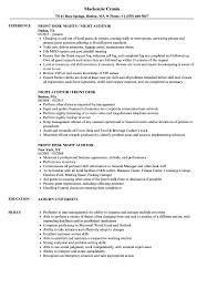 Auditor Job Description Resumes Front Desk Night Auditor Resume Samples Velvet Jobs