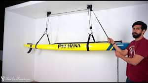 sup and surfboard ceiling hoist yourboard