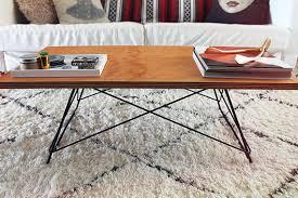 Diy Metal Coffee Table diy metal base coffee table - almost makes perfect  Diy Metal Coffee