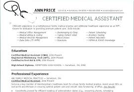 Sample Medical Assistant Resumes Examples Of Medical Assistant