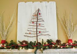 Wooden Branch Christmas Tree