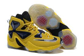 lebron james basketball shoes. nike lebron james xiii taxi yellow dark blue black basketball shoes cheap for sale | best discount price,exclusive deals lebron