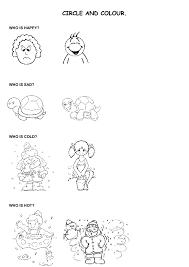 Kindergarten Adjectives Worksheet | Homeshealth.info