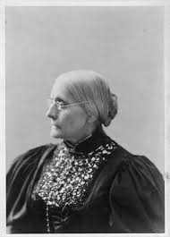 education from lva susan b anthony susan b anthony head and shoulders portrait facing left