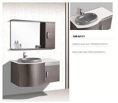 304 stainless steel bathroom vanity manufacture