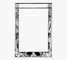 Picture Frames Book Frame Story Door Tarot Card Frame Png