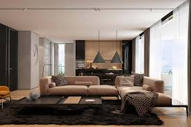 Lovely Living Room Ideas:Apartment Living Room Ideas Brownie Design With Pendants  Light Triangle Sides Amazing Photo Gallery