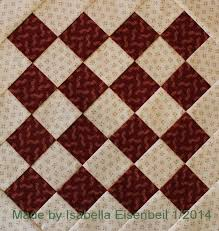 15 best Underground Railroad Quilt images on Pinterest ... & Crossroads quilt block #2 (`aka' checkerboard): made by Isabella Eisenbeil Adamdwight.com