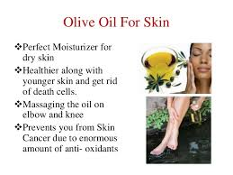 Olive oil good for skin moisturizer