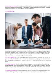 how to be a good employee at work employee qualities 4