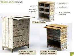 distressed industrial furniture. kitchen cart option 2 manufacturing drawing 6 distressed industrial furniture i