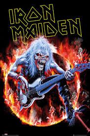Iron Maiden Fear Live Plakát Obraz Na Zeď Posterscz
