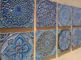 Decorative Tiles Bathroom set of 6 ceramic tiles bathroom tiles