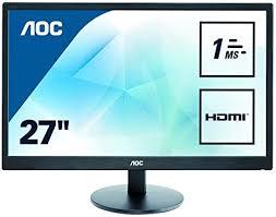 AOC E2770SH 27 INCH WIDE LED 1MS RESPONSE ... - Amazon.com
