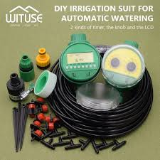 Timer 5m 2 Choices 5m 30m Diy Micro Drip Irrigation System Plant