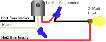 how to install and troubleshoot photo eye 208 240 volt photocell wiring