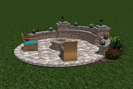 Small Picture 3D Design Studio Tremron Jacksonville Pavers Retaining Walls