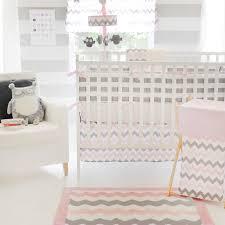 pink chevron crib sheets