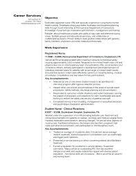 Recent Graduate Resume Example Nursing Student Resume Examples