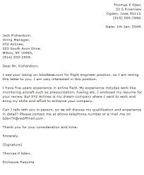 Engineer Cover Letter Examples Cover letter example