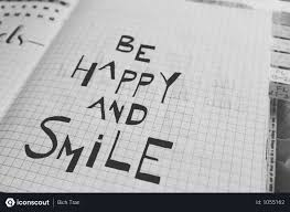 Free Happy Energetic Quote On Graph Paper Photo Download In