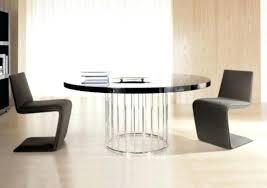 decoration modern black round dining table luxury sets uk