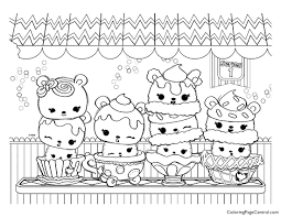 Num Noms Coloring Page 01 Coloring Page Central