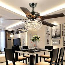 ceiling fans ceiling fan with chandelier for girl large size of light crystal ceiling fan