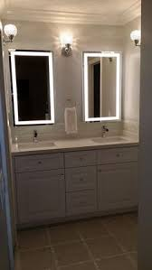 absolutely bath mirror with light bathroom idea d i y for a small 100 awesome you should have already dlingoo shelf tray pull out wall side built in led