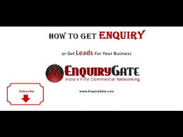 How To Get Free Enquiry Business Leads Lead Generation Sales