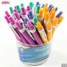 Deli Ballpoint Pens 40 pcs 0.7mm Press <b>Lovely</b> Snow Creative ...