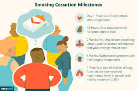 Stop Smoking Health Chart How Your Body Heals After You Quit Smoking