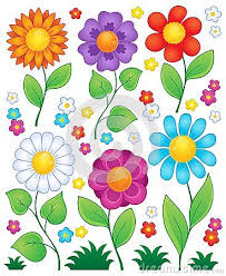 picture of cartoon flowers.  Cartoon Cartoon Flowers Collection 3 Intended Picture Of Flowers R