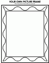Paper Frames Templates Printable Picture Frame Template Secondtofirst Com