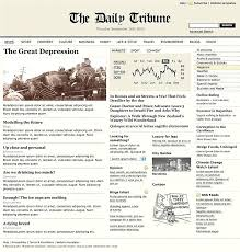 The Times Newspaper Template The Changing Times Newspaper Template Financial Bernardy Co