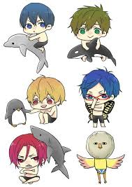 free iwatobi swim club chibi. Plain Club Chibi 3  FREE Iwatobi Swim Club In Free Club Pinterest