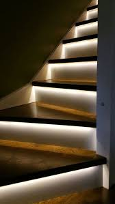Interior Stair Lights Interesting 8 Indoor Staircase Lighting Design Ideas For