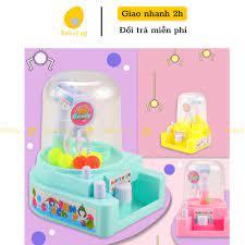 Máy gắp thú size lớn đồ chơi trẻ em tăng tương tác cho bé trai bé gái 3 4 5  6 7 8 tuổi babyegg baby egg