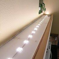 above cabinet lighting diy above kitchen cabinet lighting
