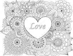 Volwassen Kleurplaat Liefde Archidev Kleurplaten Voor Volwassenen