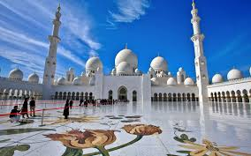 sheikh zayed mosque united arab emirates