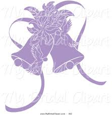 Purple Clipart Wedding Bell Pencil And In Color Purple Clipart